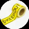 立入禁止テープ・バリケードテープ