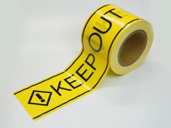 KEEPOUTテープ