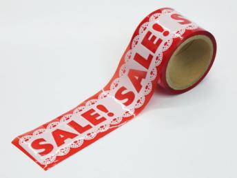 SALE(セール)販促テープ
